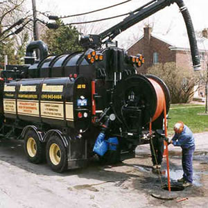Sewer Cleaning