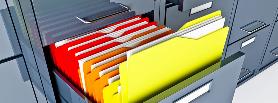 Case Studies file drawer