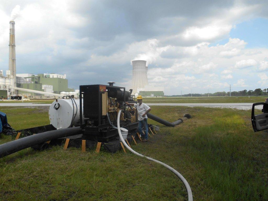 hydraulic dredging pump