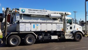 Sewer Cleaning truck
