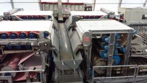 sludge dewatering belt presses